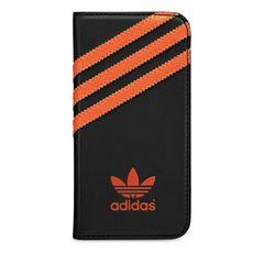 Adidas puzdro knižka Apple Iphone 5/5C/5S/SE čierne