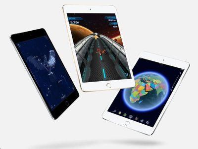 Apple iPad mini 4 Wi-Fi 128GB strieborný