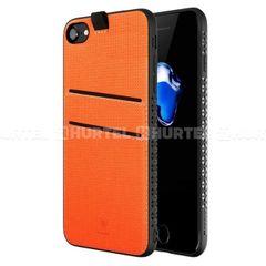 Baseus puzdro plastové Apple iPhone 7 oranžové HT