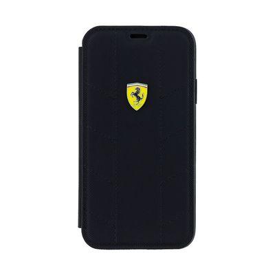 Ferrari puzdro knižka Apple iPhone X FESCODFLBKPXBK Daphne čierne