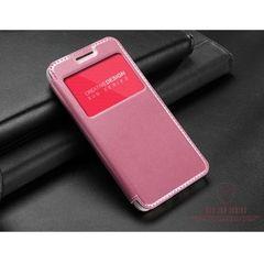 KLD puzdro knižka Apple iPhone 6/6S Sun ružové PT