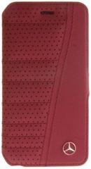 Mercedes puzdro knižka Apple iPhone 6/6S MEFLBKP6SERE červené