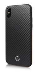 Mercedes puzdro plastové Apple iPhone X MEHCPXSRCFBK Dynamic čierne