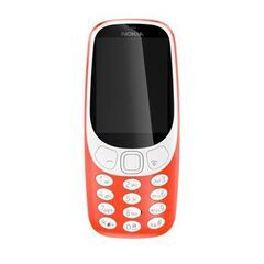 Nokia 3310 červený