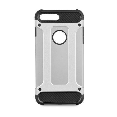 Puzdro gumené Apple iPhone 8 Plus Armor strieborné PT