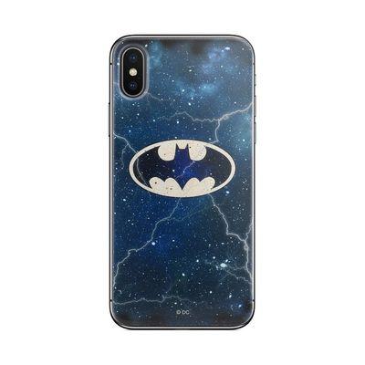Puzdro gumené Apple iPhone 5/5S/SE Batman modré vzor 003