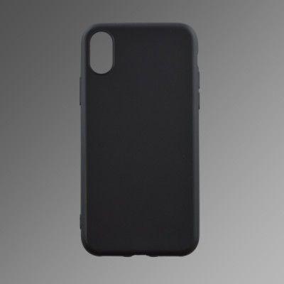 Puzdro gumené Apple iPhone 8 čierne matné