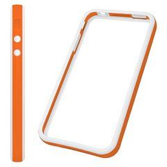Puzdro rámik Apple iPhone 4/4S oranžové