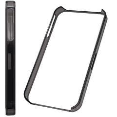 Puzdro rámik Apple iPhone  5/5C/5S/SE tmavohnedé