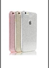 Remax puzdro gumené Apple iPhone 7 Glitter ružové/strieborné s trbliet