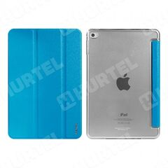 Remax puzdro knižka Apple iPad Air 2 tyrkysové HT