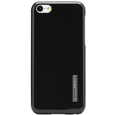 Rock puzdro plastové Apple iPhone 5/5C/5S/SE čierne