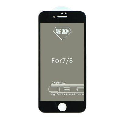 Sklenená fólia Apple iPhone X 5D Full Glue  čierna PT