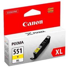Toner Canon CLI-551Y XL originál žltý