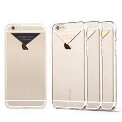 Usams puzdro plastové Apple iPhone 6/6S Dazzle ružové