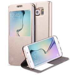Usams puzdro knižka Samsung G920 Galaxy S6 hnedé