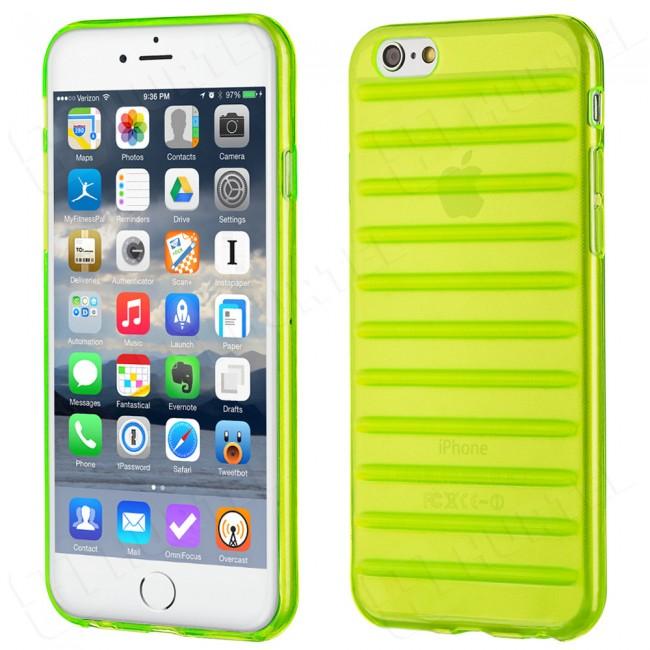 Puzdro gumené Apple iPhone 5 5C 5S SE pásiky zelené HT zväčšiť obrázok 5ff051707c2