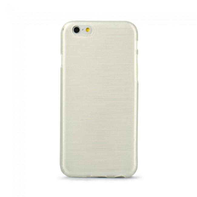 Puzdro gumené Apple iPhone 5 5C 5S SE Jelly Case Brush biele PT zväčšiť  obrázok 2ff45b22cc8