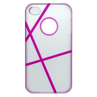 puzdro plastové apple iphone 4 4s bielo-ružové - Predaj mobilov a ... 58682582687