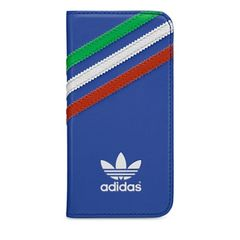 Adidas puzdro knižka Apple Iphone 5/5S Italy modré