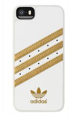 Adidas puzdro plastové Apple Iphone 5/5S bielo-zlaté