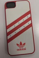 Adidas puzdro plastové Apple Iphone 5/5C/5S/SE England biele