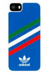 Adidas puzdro plastové Apple Iphone 5/5C/5S/SE Italy modré