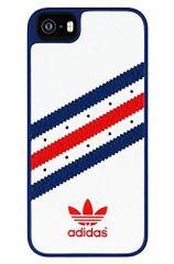Adidas puzdro plastové Apple Iphone 5/5C/5S/SE UK biele