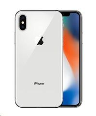 Apple iPhoneX 256GB strieborný