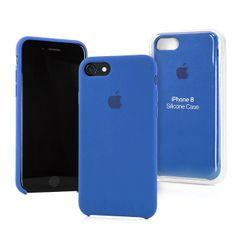 Apple puzdro gumené Apple iPhone 7 modré