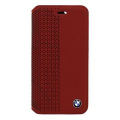 BMW puzdro knižka Apple Iphone 6 BMFLBKP6PER červené