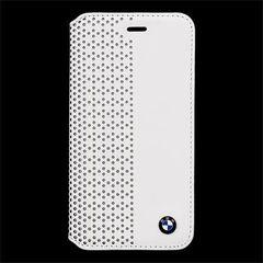 BMW puzdro knižka Apple Iphone 6/6S BMFLBKPEW biele