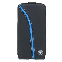 BMW puzdro knižka Samsung I9505 Galaxy S4 BMFLS4PIB čierne