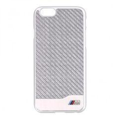 BMW puzdro plastové Apple Iphone 6/6S BMHCP6MDCS strieborné