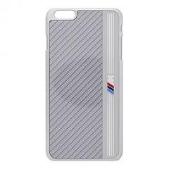 BMW puzdro plastové Apple iPhone 6/6S strieborné BMHCP6MES