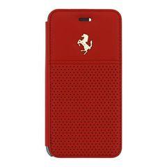 Ferrari puzdro knižka Apple iPhone 6/6S FEGTBGFLBKP6RE červené