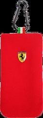 Ferrari puzdro vsuvka Apple iPhone 4/4S sock červené