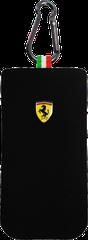 Ferrari puzdro vsuvka Apple iPhone 4/4S sock čierne