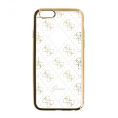 Guess puzdro gumené Apple iPhone 5 GUHCPSETR4GG zlaté