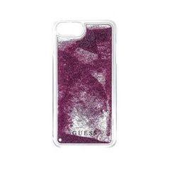 Guess puzdro gumené Apple iPhone 5/5C/5S/SE GUHCPSEGLUTRG Triangle ruž