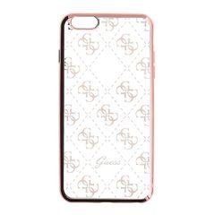 Guess puzdro gumené Apple iPhone 5/5C/5S/SE GUHCPSETR4GRG ružové
