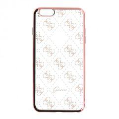 Guess puzdro gumené Apple iPhone 6/6S GUHCP6TR4GRG ružové