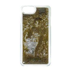 Guess puzdro gumené Apple iPhone 6/6S/7 GUHCP7GLUTGO zlaté trblietky