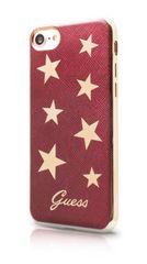 Guess puzdro gumené Apple iPhone 7 GUHCP7STARE červené s hviezdičkami
