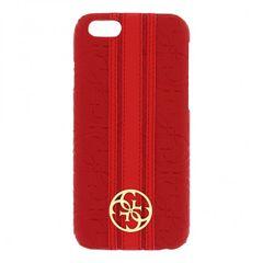 Guess puzdro plastové Apple iPhone 6/6S GUHCP6HERE červené