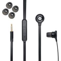 Handsfree 3,5mm jack Ear ANT pre HTC, Samsung, Apple iPhone čier