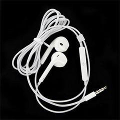 Handsfree Apple iPhone 5 stereo OEM biele