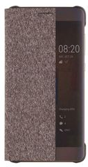 Huawei puzdro knižka P10 s-view hnedé