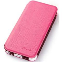 KLD puzdro knižka Apple iPhone 5/5C/5S/SE Charming ružové