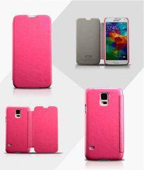 KLD puzdro knižka Samsung G900 Galaxy S5 Enland ružové
